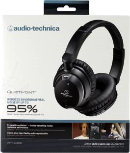 AudioTechnica ATH-ANC9 Headphones