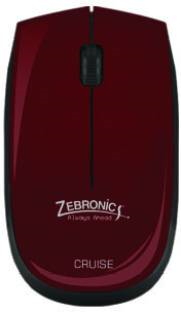 Zebronics Wireless Cruise Optical Mouse