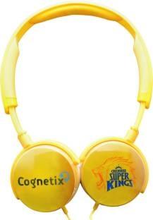 Cognetix CX311 Chennai Super Kings DIY Headphones