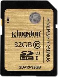 Kingston SDA10/32GB 32GB SDHC Class 10 UHS-I Memory Card