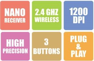Zebronics Ride Wireless Mouse