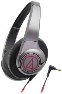 Audio-Technica ATH AX5BK Over-Ear Headphones