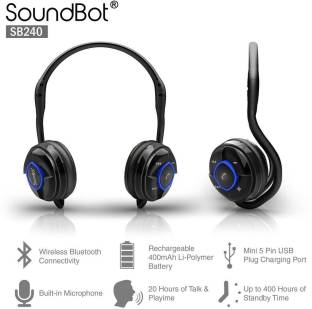 SoundBot SB240 Bluetooth Headset
