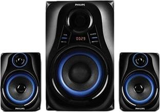 Philips MMS2580B Blue Dhoom Speaker System
