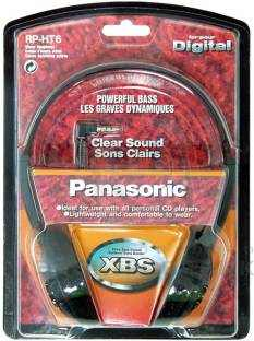 Panasonic RP-HT6E-K Headphone