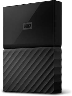 WD My Passport (WDBYNN0010B-WESN) 1TB Portable External Hard Drive
