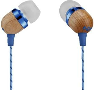 House Of Marley EM-JE041-RA Smile Jamaica In-Ear Headphone with Mic