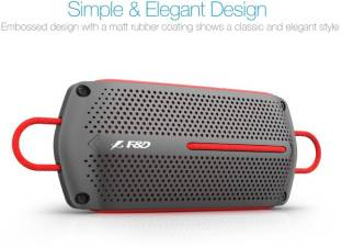 F&D W12 8 W Portable Bluetooth Speaker, Black