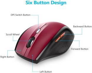 056ebbfec21 Tecknet M002 Wireless Gaming Mouse Price in India & Coupons | CKS ...