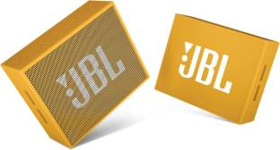 JBL Go Portable Wireless With Mic Bluetooth Speaker, Yellow
