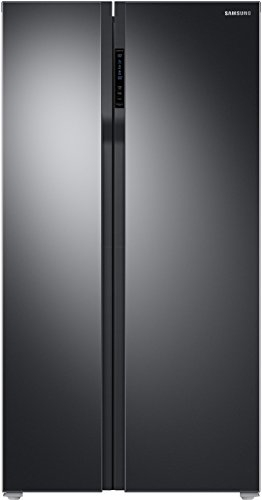 Samsung 604 L Frost Free Side by Side Refrigerator(All Black, RS55K50A02C/TL)