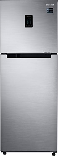 Samsung 321 L Frost Free Double Door Top Mount 3 Star Refrigerator(Refined Inox, RT34M5538S9-HL)