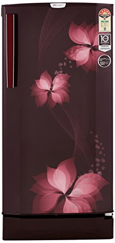 Godrej 190 L 5 Star Inverter Direct-Cool Single-Door Refrigerator (R D EPro 205 TAI 5.2 BRZ WIN, Breeze Wine)
