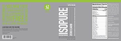 Isopure Zero Carb (1.36kg, Applemelon)