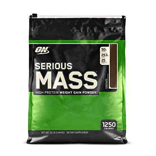 Optimum Nutrition Serious Mass (12lbs, Chocolate)