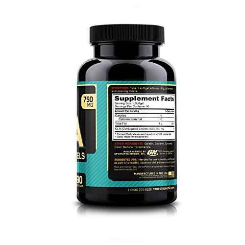 Optimum Nutrition CLA 750 mg Supplement (90 Capsules)