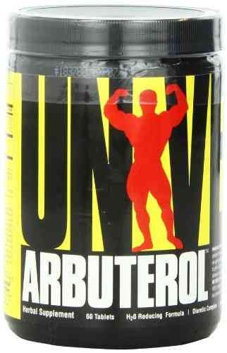 Universal Nutrition Arbuterol Herbal supplement (60 Capsules)