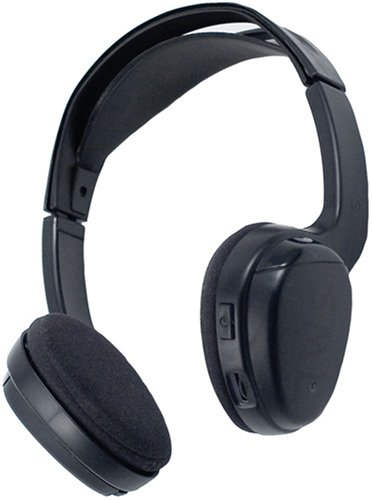 Power Acoustik WLHP100 Bluetooth Headphones