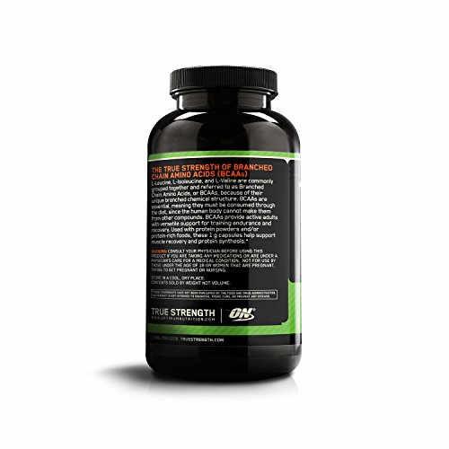 Optimum Nutrition BCAA 1000mg (400 Capsules)