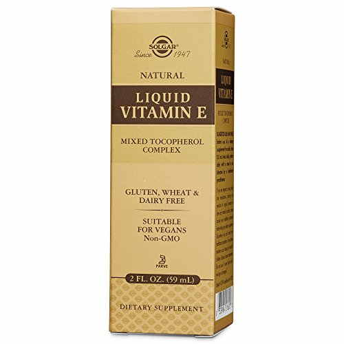 Solgar Liquid Vitamin E Mixed Tocopherol Complex Dropper 59ml