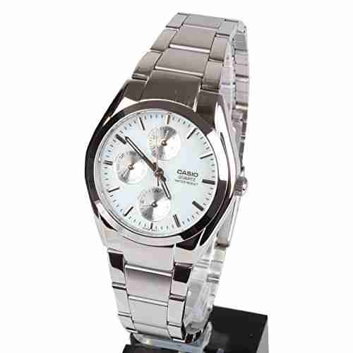 Casio Enticer MTP-1191A-7ADF (A165) White Dial Men's Watch (MTP-1191A-7ADF (A165))
