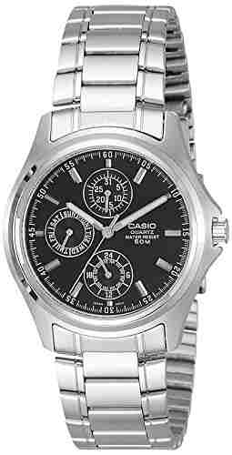 Casio MTP-1246D-1AVDF (A220) Analog Black Dial Men's Watch