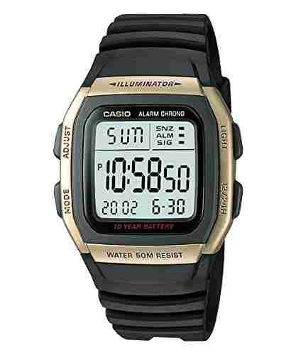 Casio Youth W-96H-9AVDF (D034) Yellow Dial Men's Watch (W-96H-9AVDF (D034))