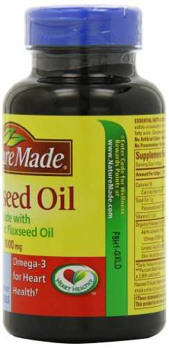 Nature's Made Flaxseed Oil 1000mg (100 Capsules)