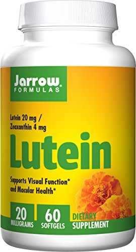 Jarrow Formulas Lutein 20 mg Supplement (60 Capsules)