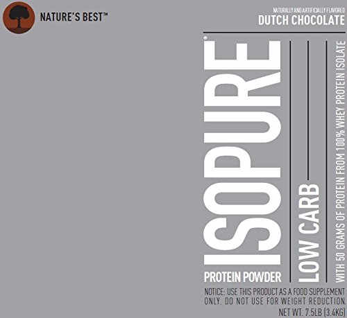 Nature's Best Low Carb Isopure (3.4Kg, Chocolate)