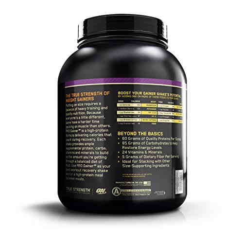 Optimum Nutrition Pro Complex Gainer 60 (2.3Kg / 5.07lbs, Chocolate)