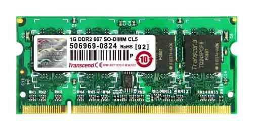 Transcend (JM667QSU-1G) DDR2 1GB Laptop RAM
