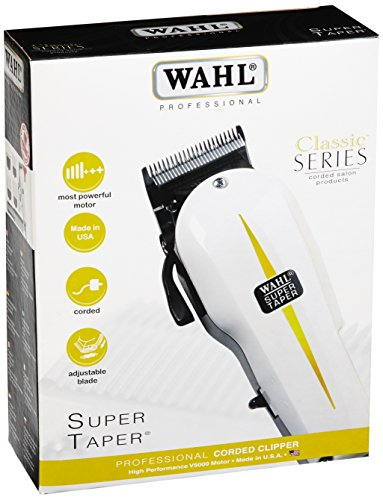 Wahl 08466-424 Cordless Hair Clipper Trimmer  White