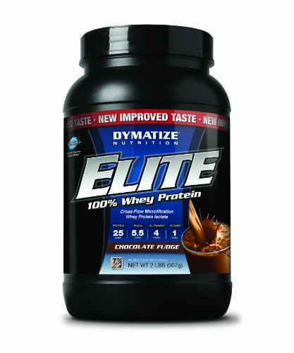 Dymatize Nutrition Elite 100% Whey Protein (908gm, Chocolate)