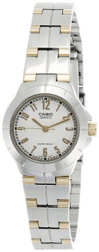 Casio Enticer LTP-1242SG-7ADF (A375) Analog White Dial Women's Watch