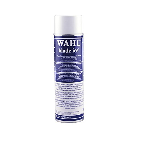 Wahl Professional 89400-024 Blade Ice Coolant Lubricant Cleaner Sky Blue