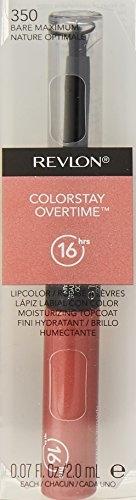 Revlon Colorstay Overtime Lipsticks, 2 ML Bare Maximum