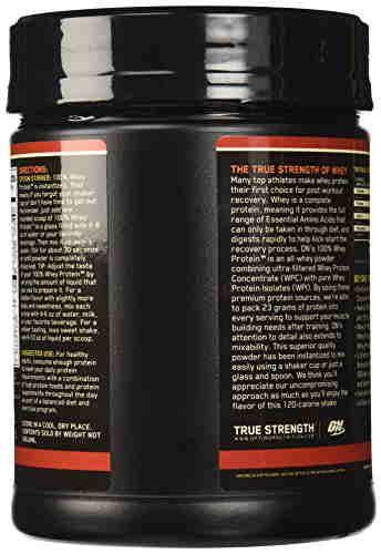 Optimum Nutrition 100% Whey Protein (1lbs, Vanilla)