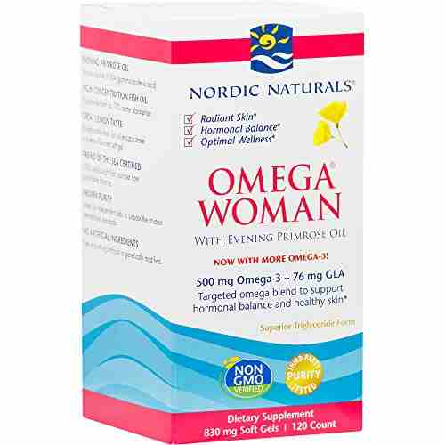 Nordic Naturals Omega Woman Supplements (120 Capsules)