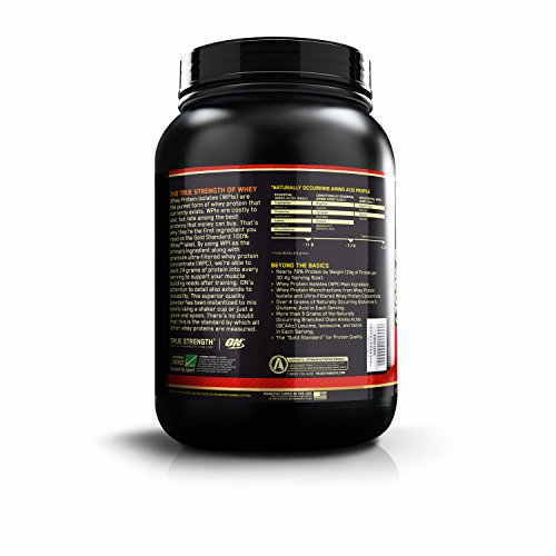 Optimum Nutrition 100% Whey Gold Standard (2lbs, Chocolate)