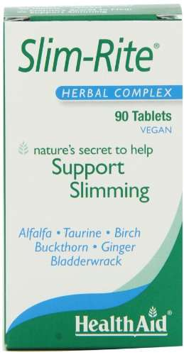 Health Aid Slim-Rite Herbal Complex Supplements (90 Tablets)