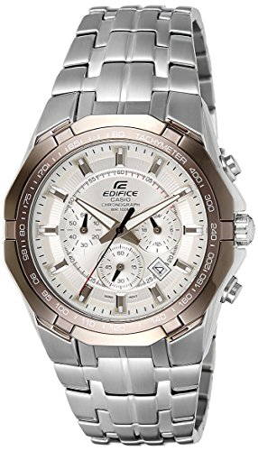 Casio Edifice EF-540D-7AVDF (ED373) Chronograph White Dial Men's Watch (EF-540D-7AVDF (ED373))
