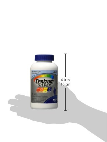 Centrum Silver Men 50 Dietary Supplement (250 Capsules)