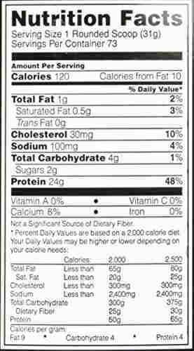 Optimum Nutrition 100% Whey Gold Standard (1lbs, Vanilla)