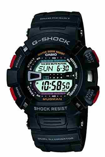 Casio G-Shock G-9000-1VDR (G201) Digital White Dial Men's Watch