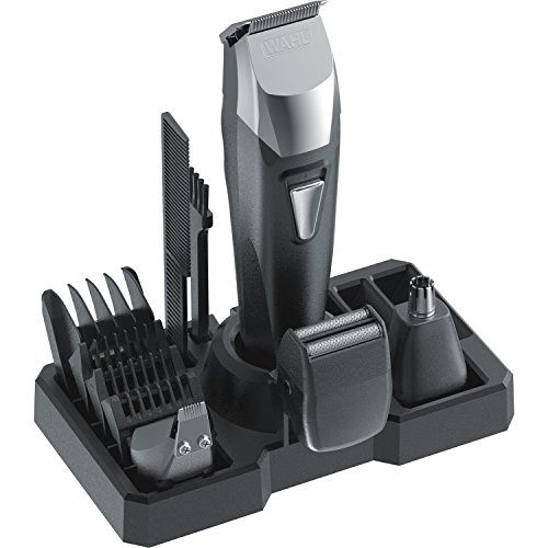 Wahl 9860-700 All in One Rechargeable Grooming Kit Black & silver