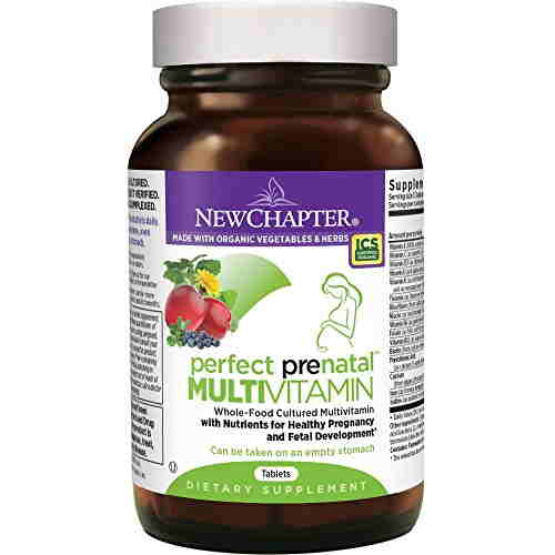 New Chapter Perfect Prenatal Multi Vitamin Supplements (48 Tablets)