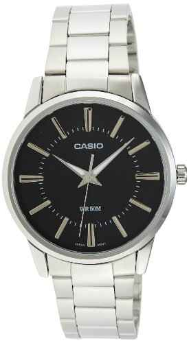 Casio Enticer MTP-1303D-1AVDF (A492) Analog Black Dial Men's Watch (MTP-1303D-1AVDF (A492))