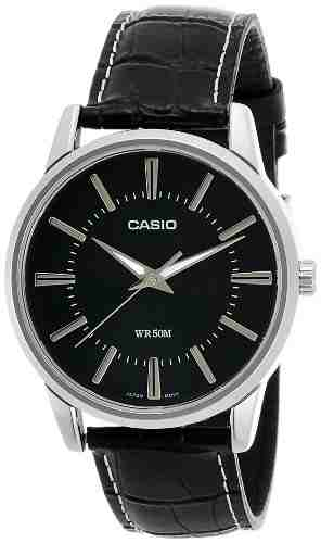 Casio Enticer MTP-1303L-1AVDF (A496) Analog Black Dial Men's Watch (MTP-1303L-1AVDF (A496))