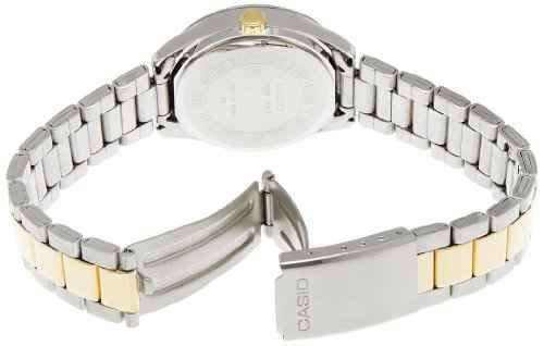 Casio Enticer LTP-1302SG-7AVDF (A478) Analog Silver Dial Women's Watch (LTP-1302SG-7AVDF (A478))